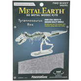 Tyrannosaurus Rex Metal Earth 3D Model Kit